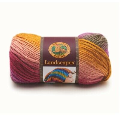 NEW Lion Brand Landscapes Yarn By Spotlight