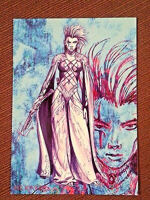 """Dungeons + Dragons  promo card - MINT Ad - Unused 4"""" x 6"""" Postcard Tower Records"""