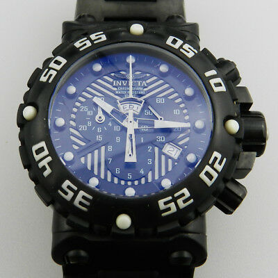 Invicta Subaqua Nitro Chronograph Model Nr. 0405 in Schwarz