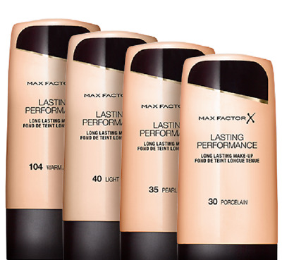 Max Factor X Lasting Performance Foundation touch-proof