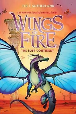 Wings of Fire #11: The Lost Continent by Tui,T Sutherland Hardcover Book Free Sh