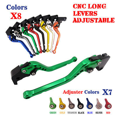 CNC Short Long Brake Clutch Adjustable Levers for Kawasaki ZX-9R ZX-6 ZR-7 ZR750