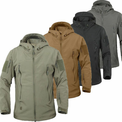 New TAD Hunting Outdoor Softshell Military Tactical Jacket Men Waterproof Army 2