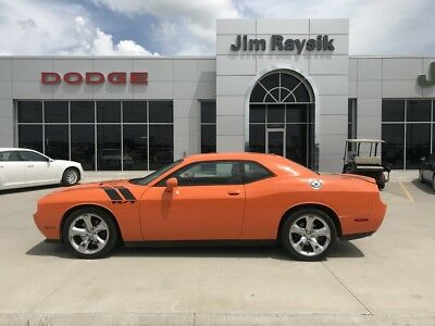 2014 Dodge Challenger ORANGE 2014 CHALLENGER R/T MANUAL TRANS