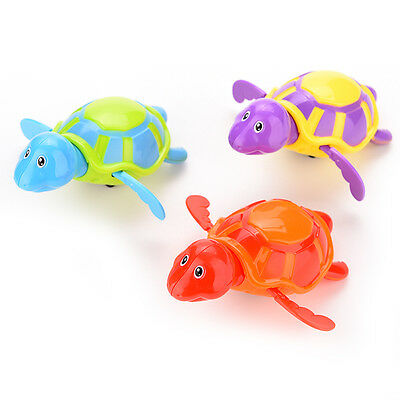 Cute Bath Swimming Tub Pool Toy Baby Boys Girls Bathing Turtle Animals Random JK