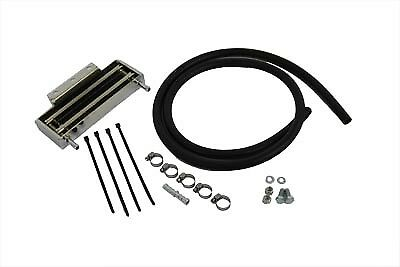 Sifton Oil Cooler Horizontal Mount Style fits Harley Davidson,V-Twin 40-0306