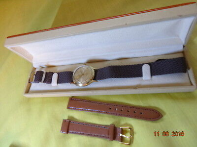 1950 KFM Karl-Friedrich Mall 31mm GF 20 Mic ETA 1080 17 RUBIS INCABLOC SERVICED