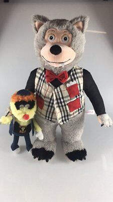 "Rolfe & Earl 16"" Plush Doll! * Rock-afire Explosion Showbiz Pizza"