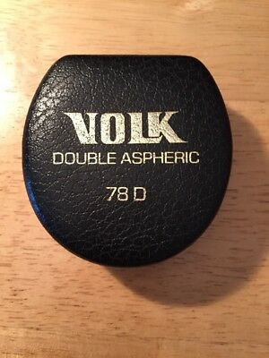 Volk 78D lens, Double Aspheric, Perfect Condition, Made In USA.