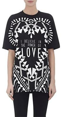 NWT GIVENCHY BLACK Power Of Love Graphic Jersey Tee Shirt Size S ... 0824af0ce7084