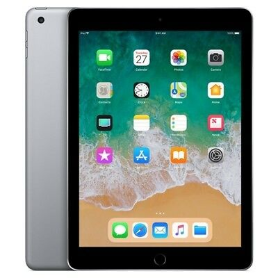 Apple Ipad 2018 32Gb Color Gris Espacial Space Gray Solo Wifi Ios Mr7F2Ty/a