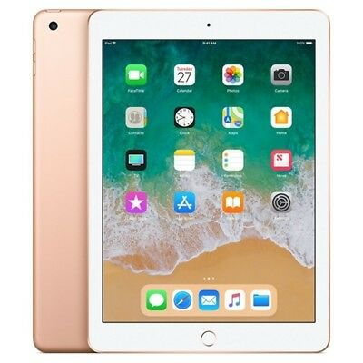 Apple Ipad 2018 32Gb Oro Gold Dorado Solo Wifi Ios Mrjn2Ty/a