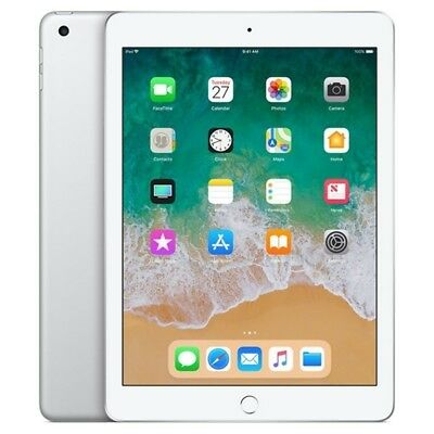 Apple Ipad 2018 128Gb Color Plata Silver Solo Wifi Ios Mr7K2Ty/a