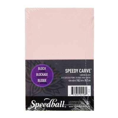 NEW Speedball Speedy Carve Block 4 x 6 By Spotlight