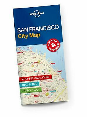 Lonely Planet San Francisco City Map by Lonely Planet (Sheet map, 2016)