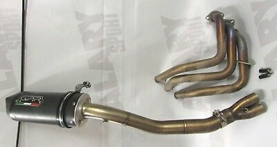 Yamaha GPR Exhaust FULL System + HEADERS EXHAUST MANIFOLD MOTO FJ09 2015
