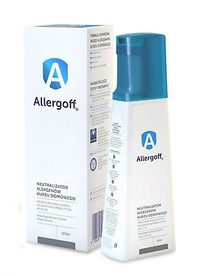 Allergoff 250ml Allergen Neutralising Spray Anti Pet Dust Pollen Allergy