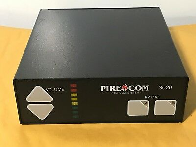 Fire Com 3020 Intercom System