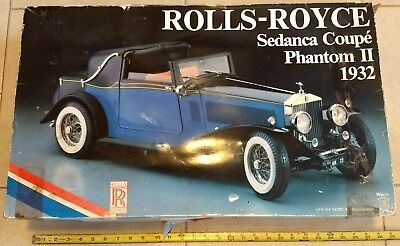 POCHER 1932 Rolls Royce Sedanca Coupe Phantom II Vintage model