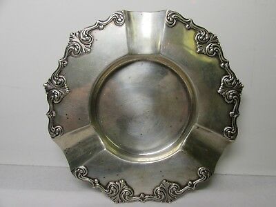 Antique Tiffany & Co. Makers Ornate Sterling Silver 925 Ashtray