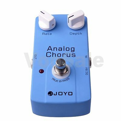 JOYO JF-37 Blue Analog Chorus Professional Effect Guitar Pedal True Bypass