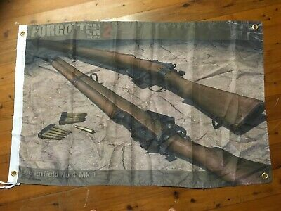 Lithgow small arms factory biker garage art USA man cave flag lee Enfield rifle