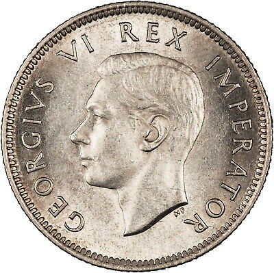 South Africa 1941 Shilling CHOICE LUSTROUS UNC