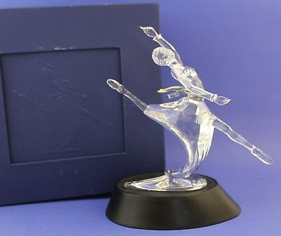 Swarovski Austrian Crystal Magic of Dance Anna with Plaque, COA & Stand in Box