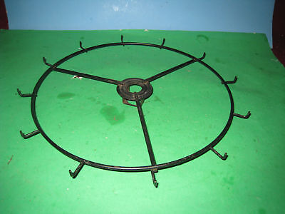 1 Wire Spinner Carousel Rotary Display Rack LEVEL 12 hanging hooks  8E4
