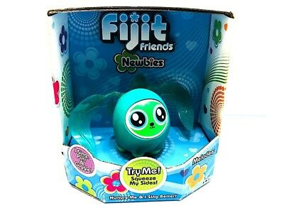 Electronic & Interactive Other Interactive Toys Fijit Friends Newbies Kira Figure Sing Purr Giggle Nib Needs Batteries
