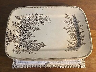 Gorgeous Aesthetic Movement Platter Circa 1800's