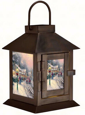 "Lantern-Thomas Kinkade Village Christmas-LED w/Timer (6.4"")"