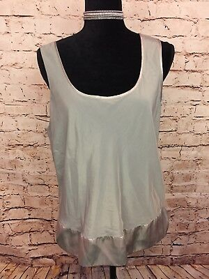 Victoria's Secret Women's Sleep Top Sage Green Camisole Large