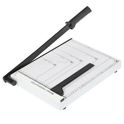 10 Sheet Professional Guillotine Paper Cutter A4-B7 Paper Trimmer with Safeguard