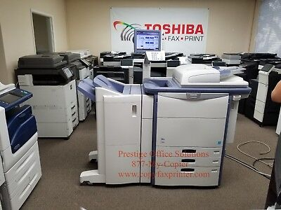Toshiba e-Studio 6540c Digital Copier Meter only 149k SEE VIDEO BELOW!