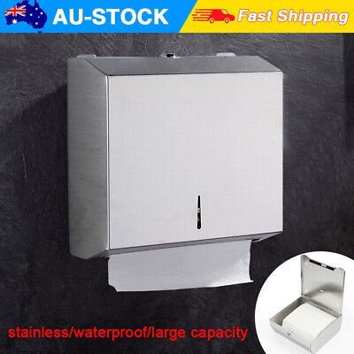 Wall Mounted Stainless Steel Toilet Hand Paper Towel Dispenser Roll Paper Holder