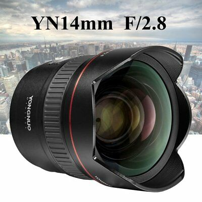 YONGNUO YN14mm F2.8 Auto Focus Metal Mount Ultra-wide Angle Prime Lens for Canon