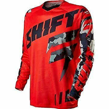 Shift Faction Camo Jersey Red