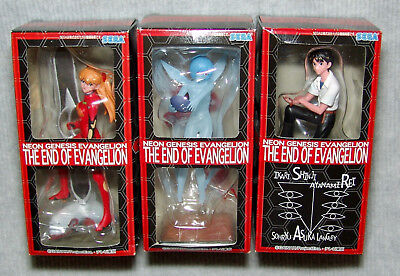 """NEW Evangelion Collection Figures """"The End of Evangelion"""" set of 3   USA SELLER"""