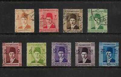 EGYPT 1937 Investiture of King Farouk, used