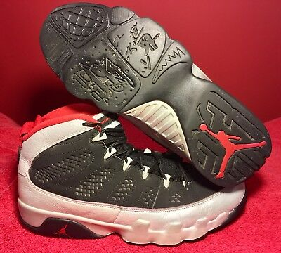 d060957cb1a NIKE AIR JORDAN Retro 9 IX Johnny Kilroy Size 8 Black Grey Red ...