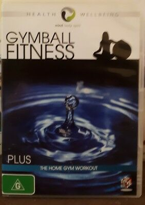 Gymball Fitness + Home Gym Workout - DVD (Region 4) - NEW & SEALED - Freepost