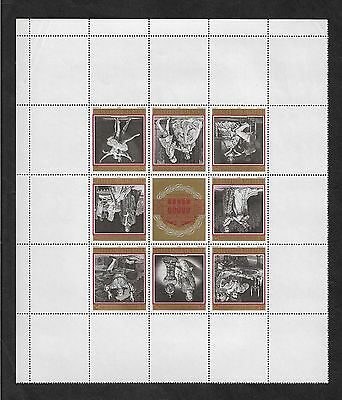 AUSTRIA 1969 Centenary State Opera Vienna, mint mini sheet No.2, MNH MUH