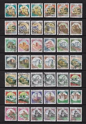 ITALY 1980+ Castles, No.4, used