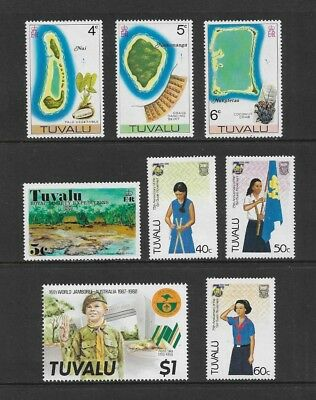 TUVALU mixed collection No.1, mint MH