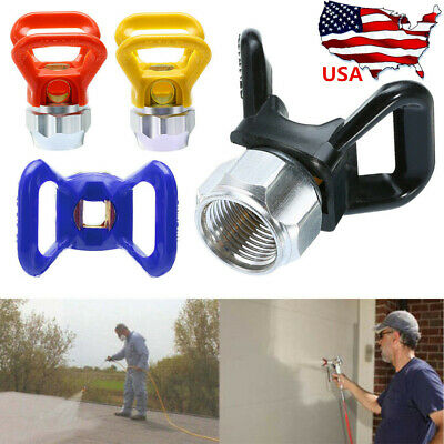 1 PC Airless Paint Spray Gun Tip Nozzle Guard Seat For Titan Wagner Sprayer