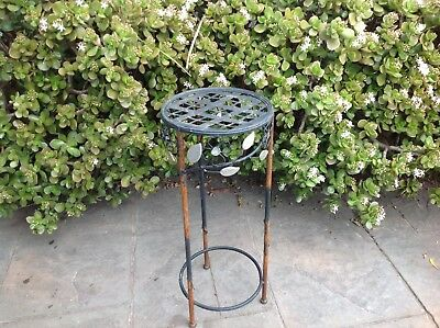 Metal Rustic Plant Stand..display Stand..