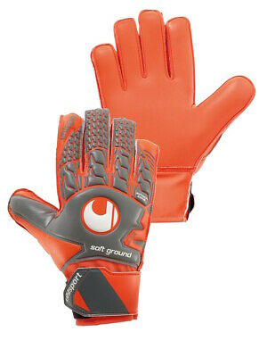 Uhlsport Guanti Portiere Keeper Gloves Aerored Soft Advanced Uomo