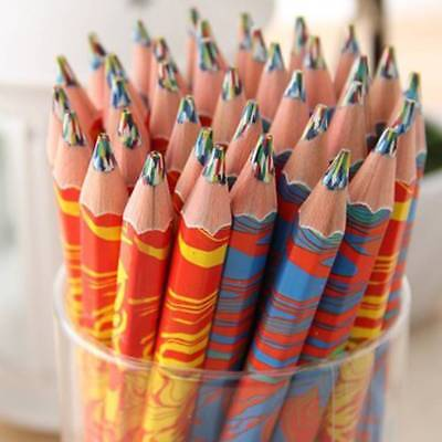 Fashion Rainbow Pencils for Drawing Colored Pencils kids Drawing Colored Pencil