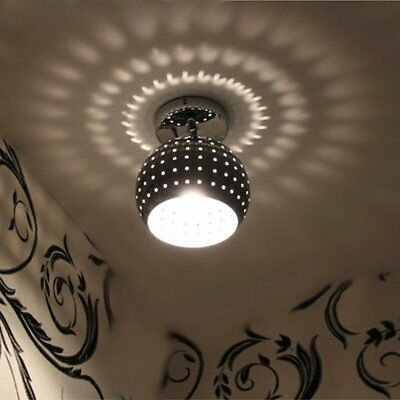 ZEEFO Mini Led Ceiling Light, Energy Saving Dome Lamp, Chrome Finish Flush